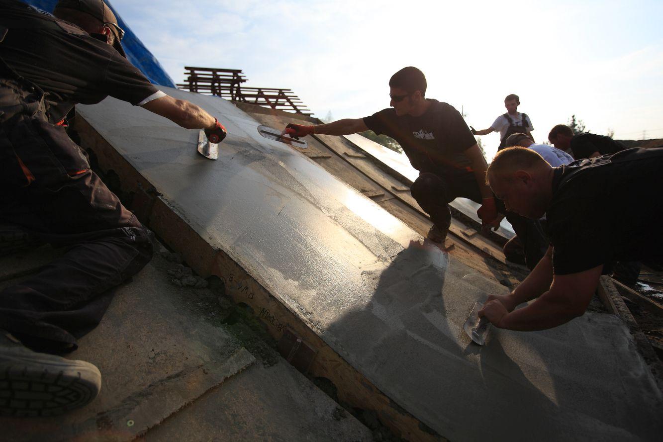 Torketowanie betonu Slajd #1